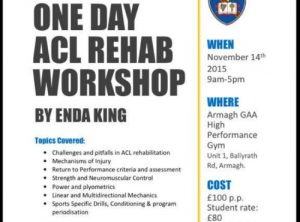 ACL Rehabilitation Course