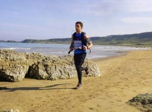 Peter runs the Causeway Coast Marathon