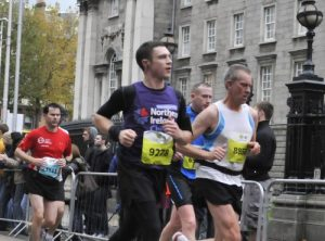 Peter Runs the Dublin Marathon