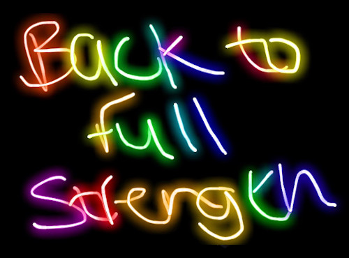 Back to Full Strength